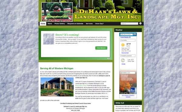 DeHaan Lawn Care