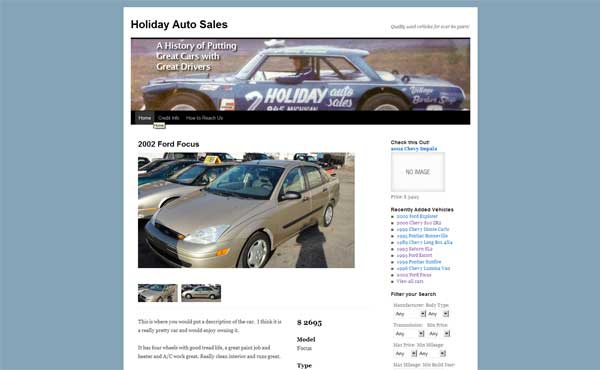DeHaan's Holiday Auto Sales