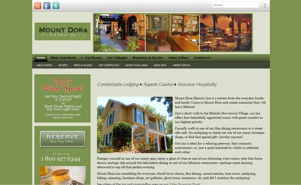 Mount Dora Historic Inn & Cottages