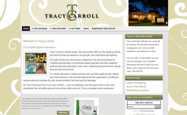 Tracy Carroll Salon